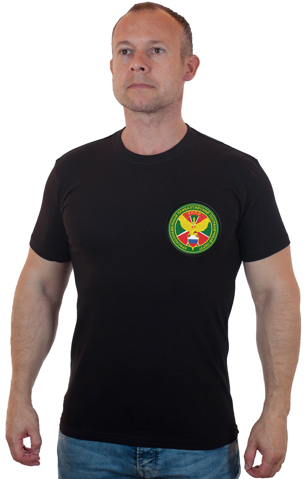 Недорогая мужская футболка Краснознаменного Прибалтийского пограничного округа