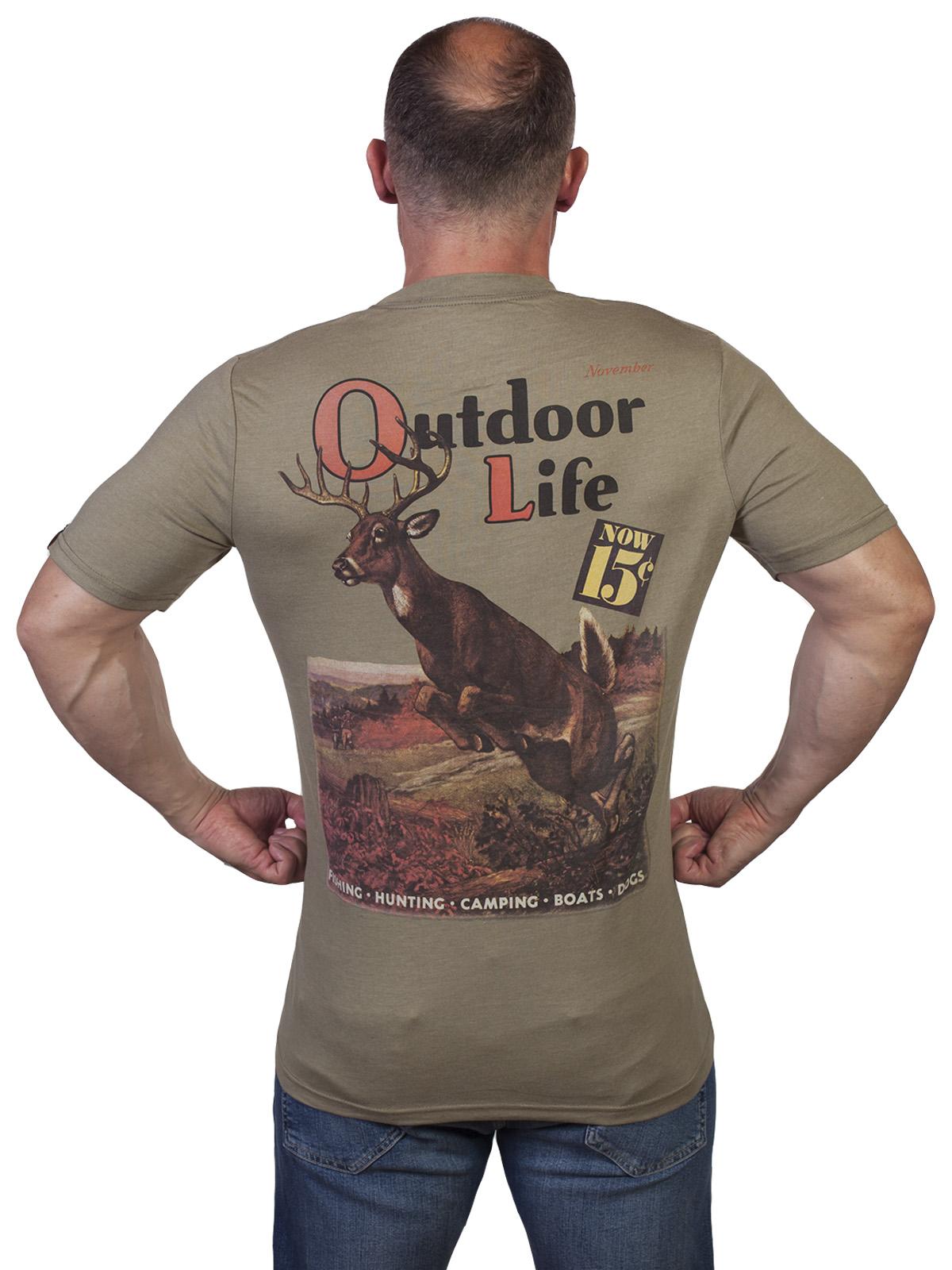 Мужская милитари футболка Outdoor life. - заказать в Военпро