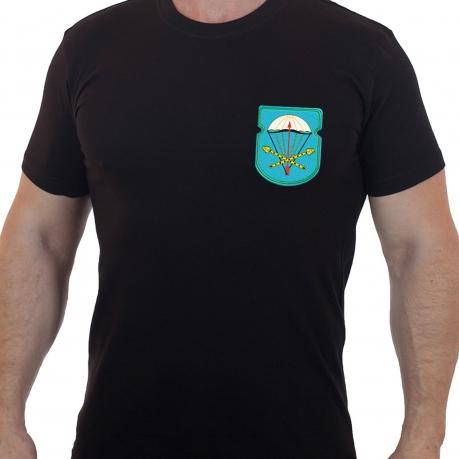 Милитари футболка с вышитым знаком ВДВ 116-й отдельный парашютно-десантный батальон 31 гв. ОДШБр - купить онлайн