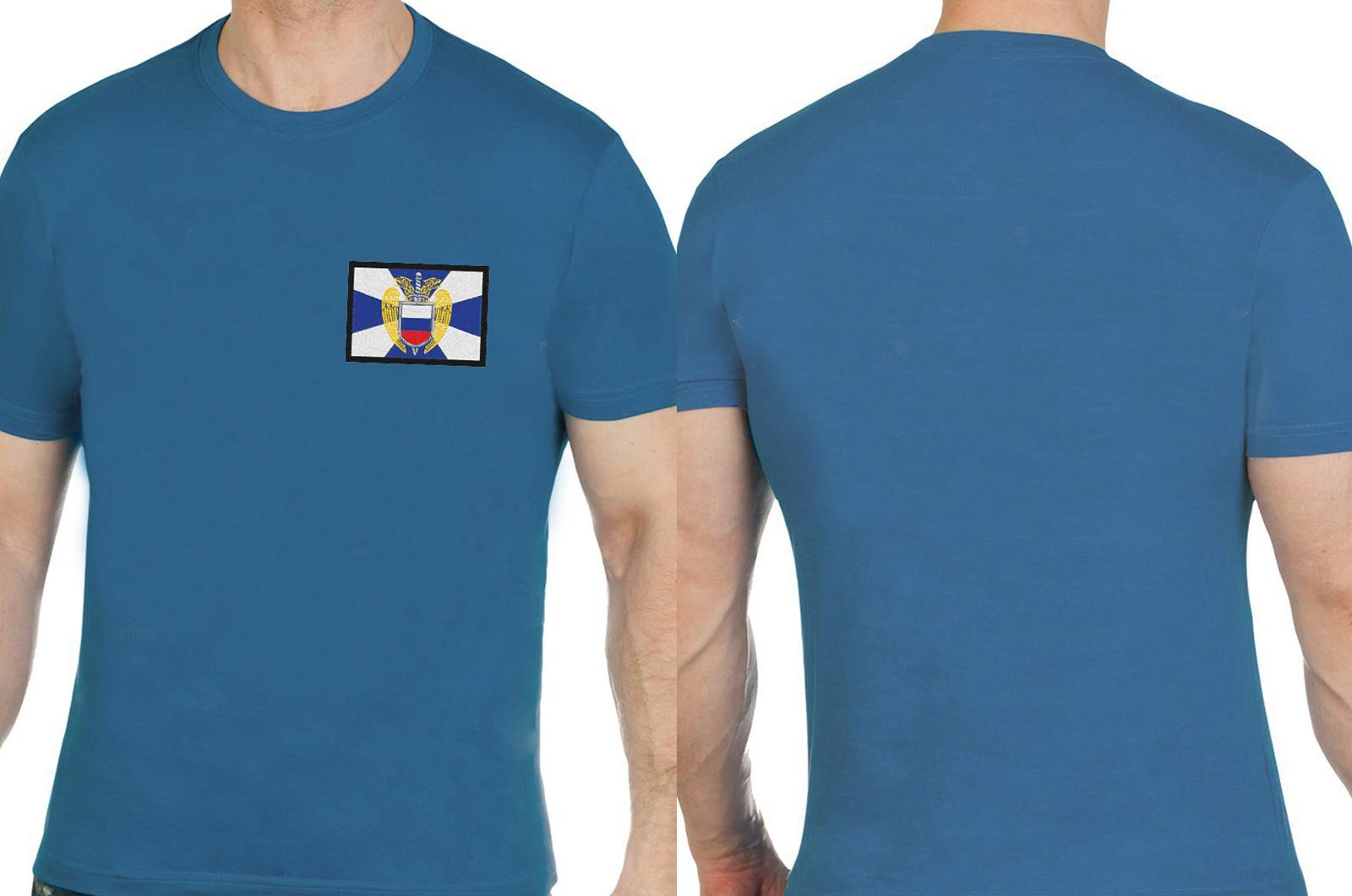 """Милитари футболка с вышивкой """"ФСО"""""""