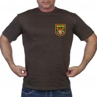 Оливковая милитари футболка Танковые войска