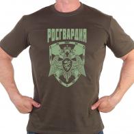 Милитари футболка с эмблемой Росгвардии