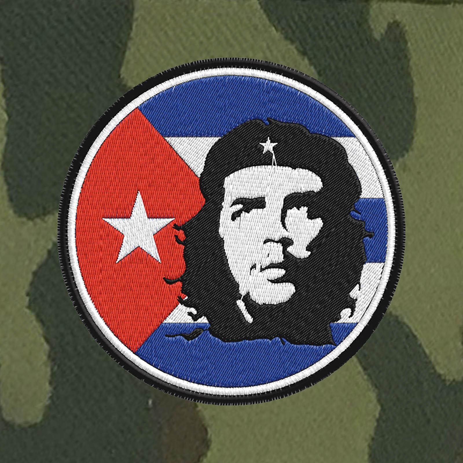 Милитари кепка с шевроном Че Гевары.