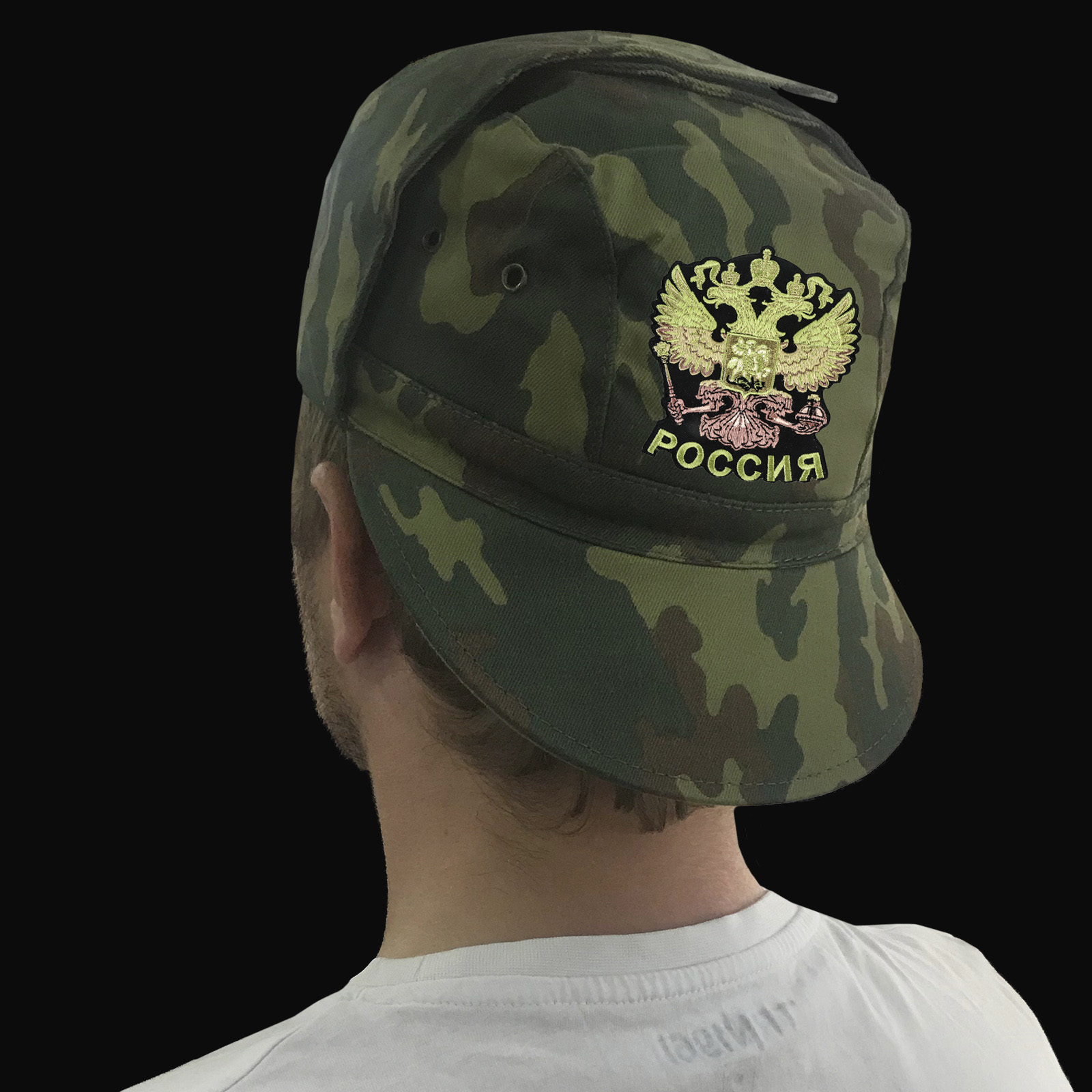 Мужские военные кепки с Двуглавым Орлом