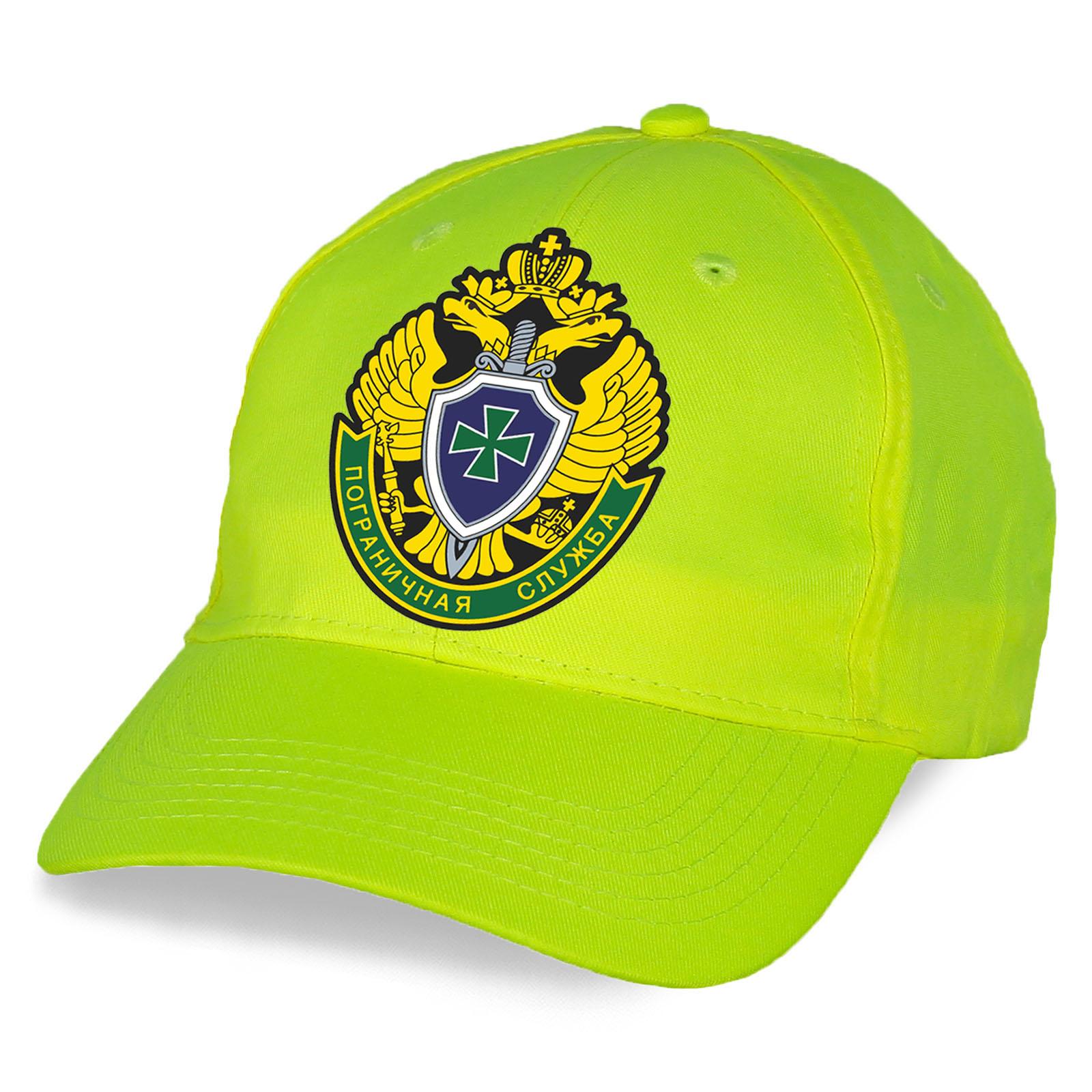 Милитари кепка с символикой Погранслужбы