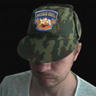Милитари кепка с вышивкой Русская Охота