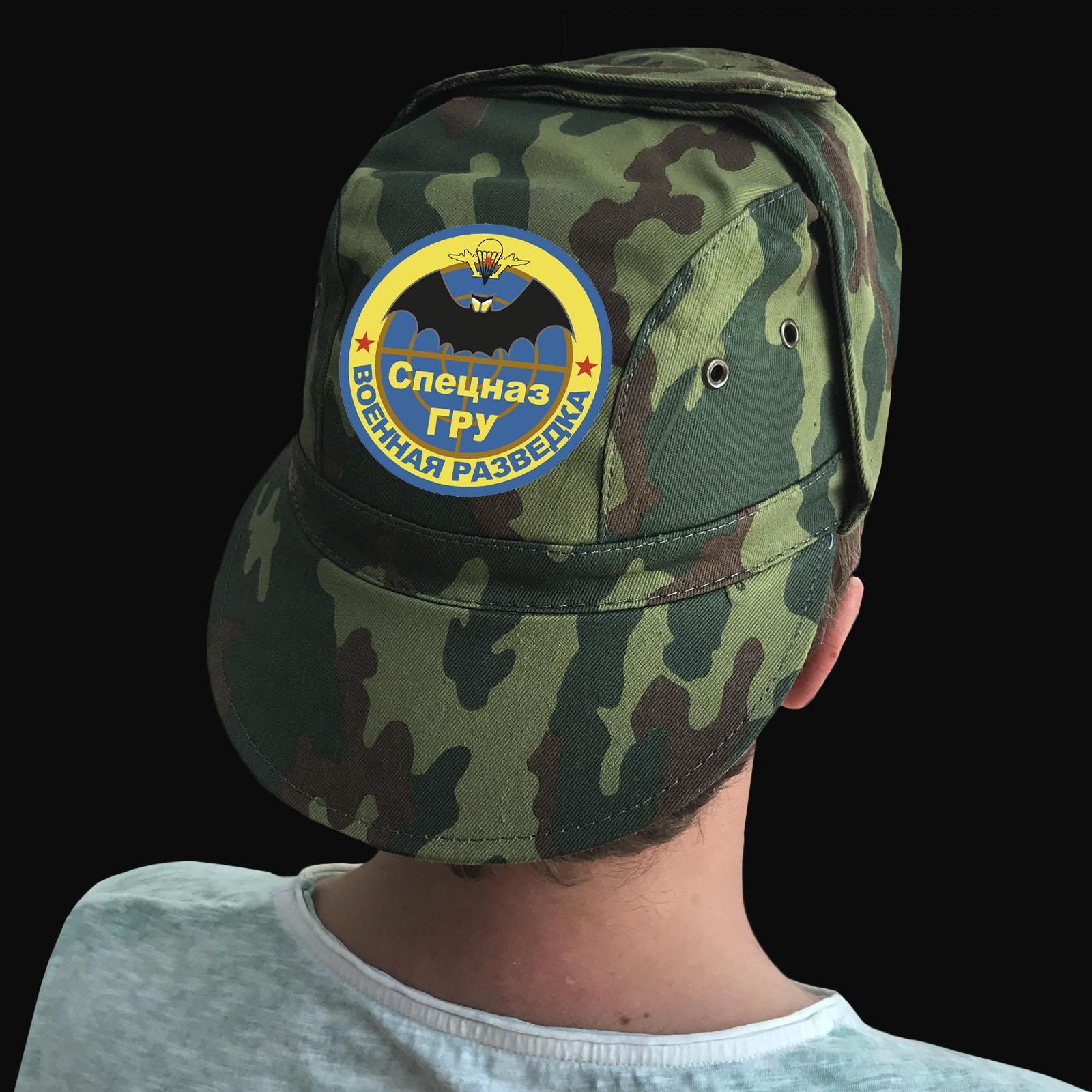 Купить милитари кепку с термонаклейкой Спецназ ГРУ с доставкой