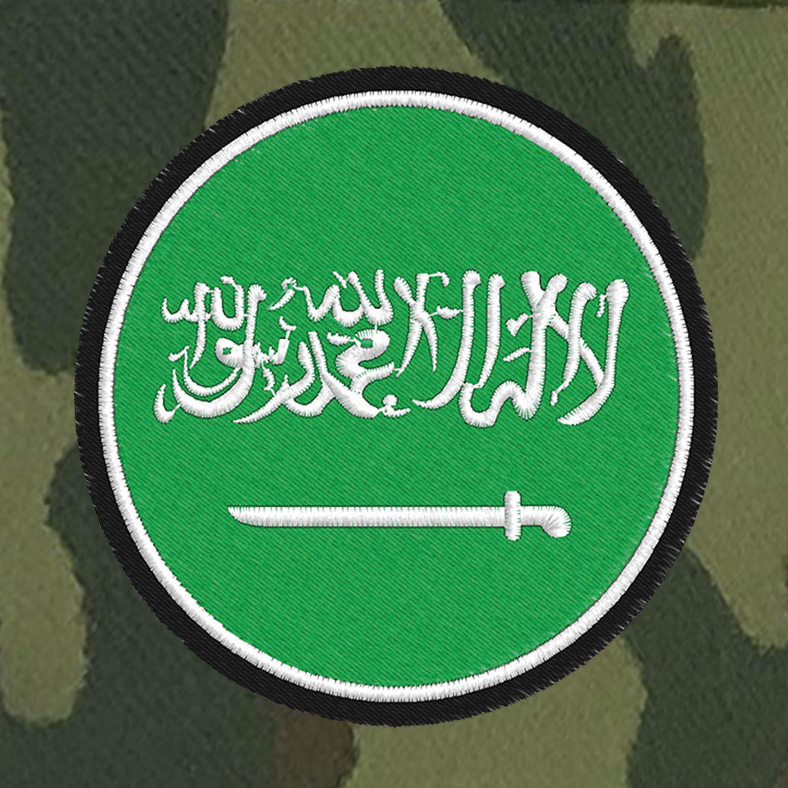 Милитари кепка с флагом-шевроном Саудовской Аравии