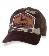 Милитари кепка ССЕ с эмблемой John Deere.