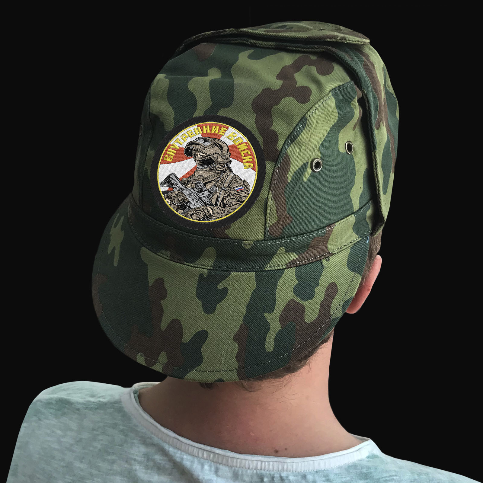 Милитари кепки с символикой ВВ России