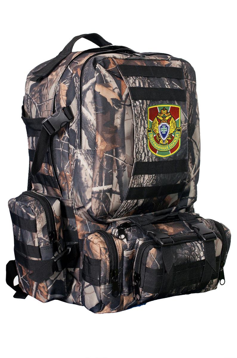 Тактический военный рюкзак с нашивкой Пограничной службы - заказать оптом