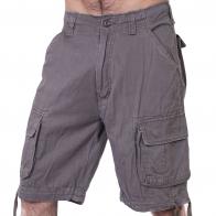 Тот самый BRANDIT! Классические милитари шорты с карманами.