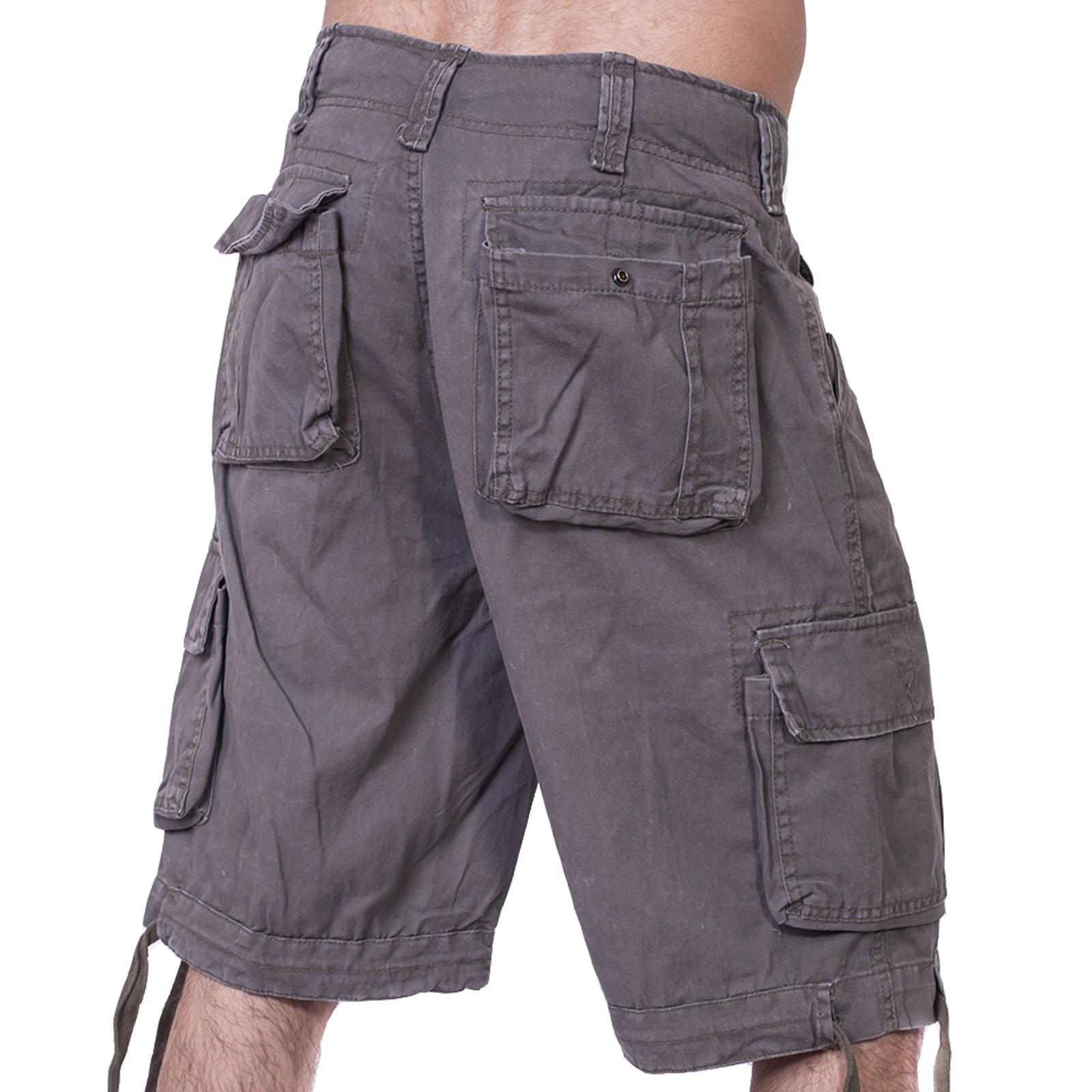 Купить в интернет магазине милитари шорты с карманами