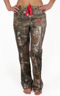 Женские милитари штаны Realtree Xtra. Защитный дизайн с 3D-эффектом. Прямые брючины добавят роста и удлинят твои ножки! По такой цене брендовые вещи продаются только ЗДЕСЬ!