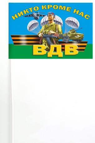 Мини-флажок ВДВ на палочке