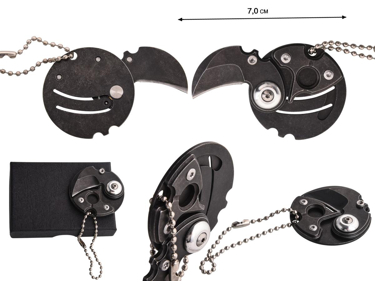 Мини керамбит NKOK406 | Купить складные мини ножи
