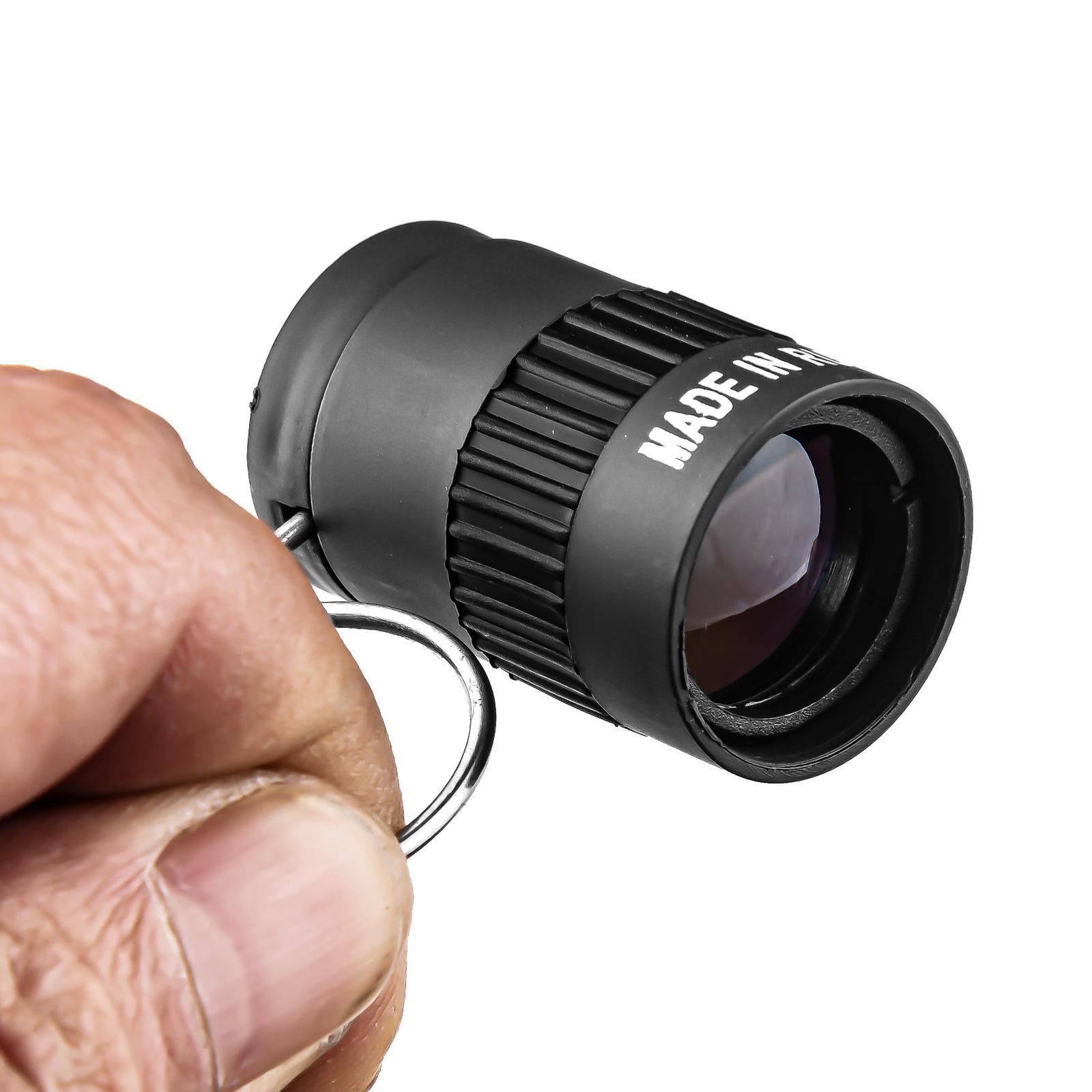 Мини-монокуляр для незаметного наблюдения (черный)