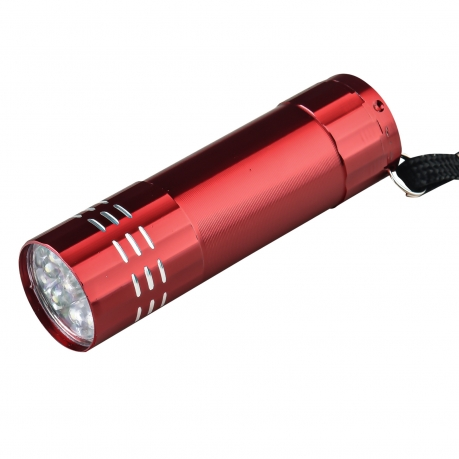 Миниатюрный светодиодный фонарик (красный)