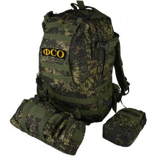 Многодневный армейский рюкзак с нашивкой ФСО - купить с доставкой