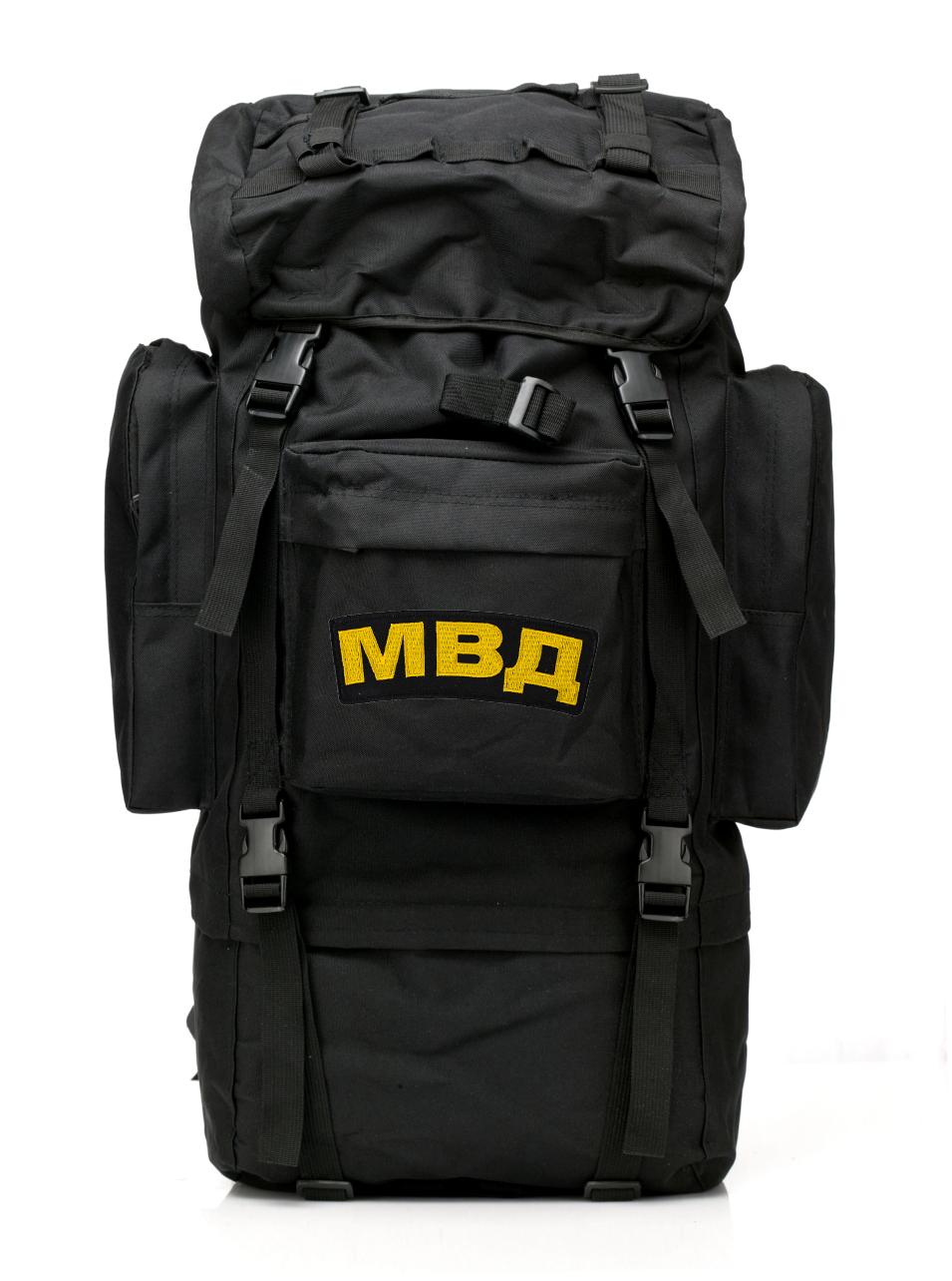 Многодневный черный рюкзак МВД Max Fuchs - заказать оптом