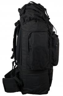 Заказать многодневный черный рюкзак с эмблемой Охотничьих войск