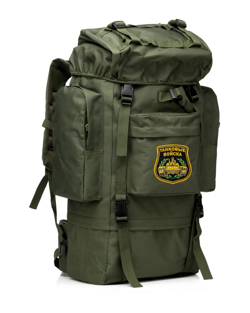 Многодневный каркасный рюкзак с нашивкой Танковые Войска - заказать с доставкой