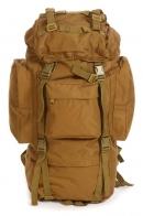 Многодневный рейдовый рюкзак (70 литров, койот)