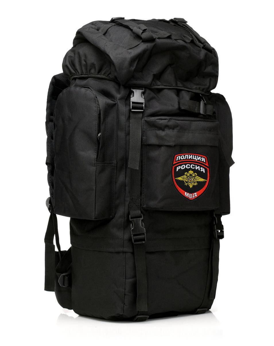 Многодневный тактический рюкзак с нашивкой Полиция России - купить в подарок