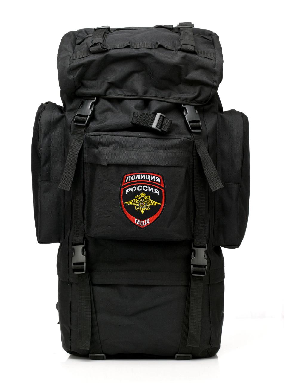 Многодневный тактический рюкзак с нашивкой Полиция России - купить в Военпро
