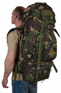 Заказать многодневный туристический рюкзак с нашивкой РХБЗ