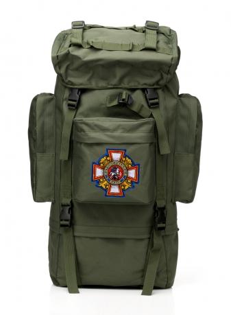 Многодневный удобный рюкзак с нашивкой Потомственный Казак