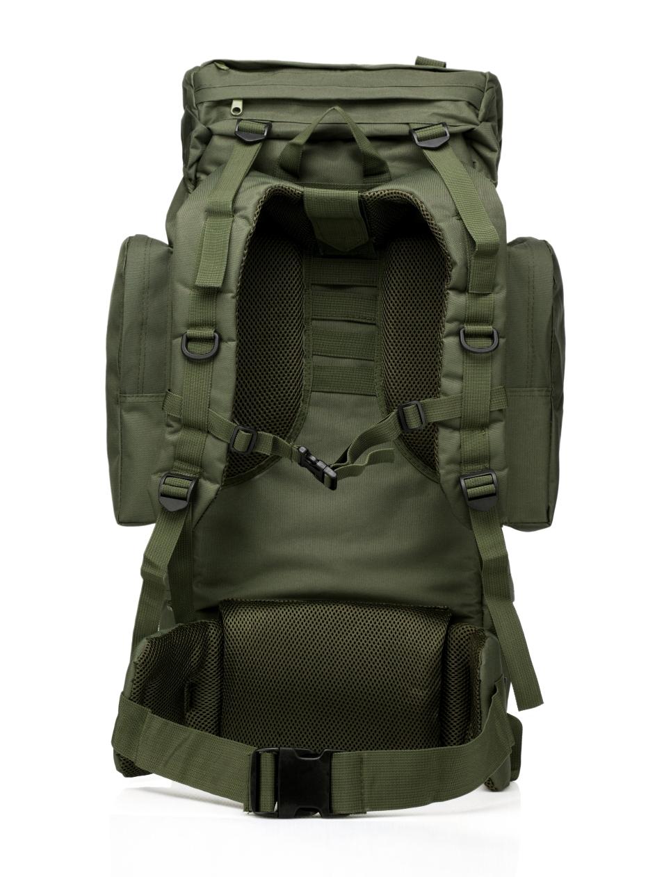 Купить многодневный удобный рюкзак с нашивкой Потомственный Казак оптом выгодно