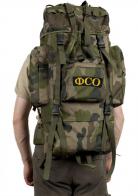 Многодневный вместительный рюкзак с нашивкой ФСО - заказать онлайн