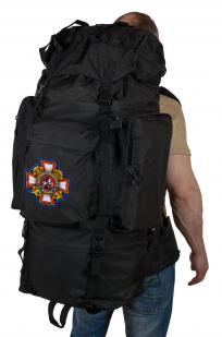 Многодневный вместительный рюкзак с нашивкой Потомственный Казак - купить с доставкой