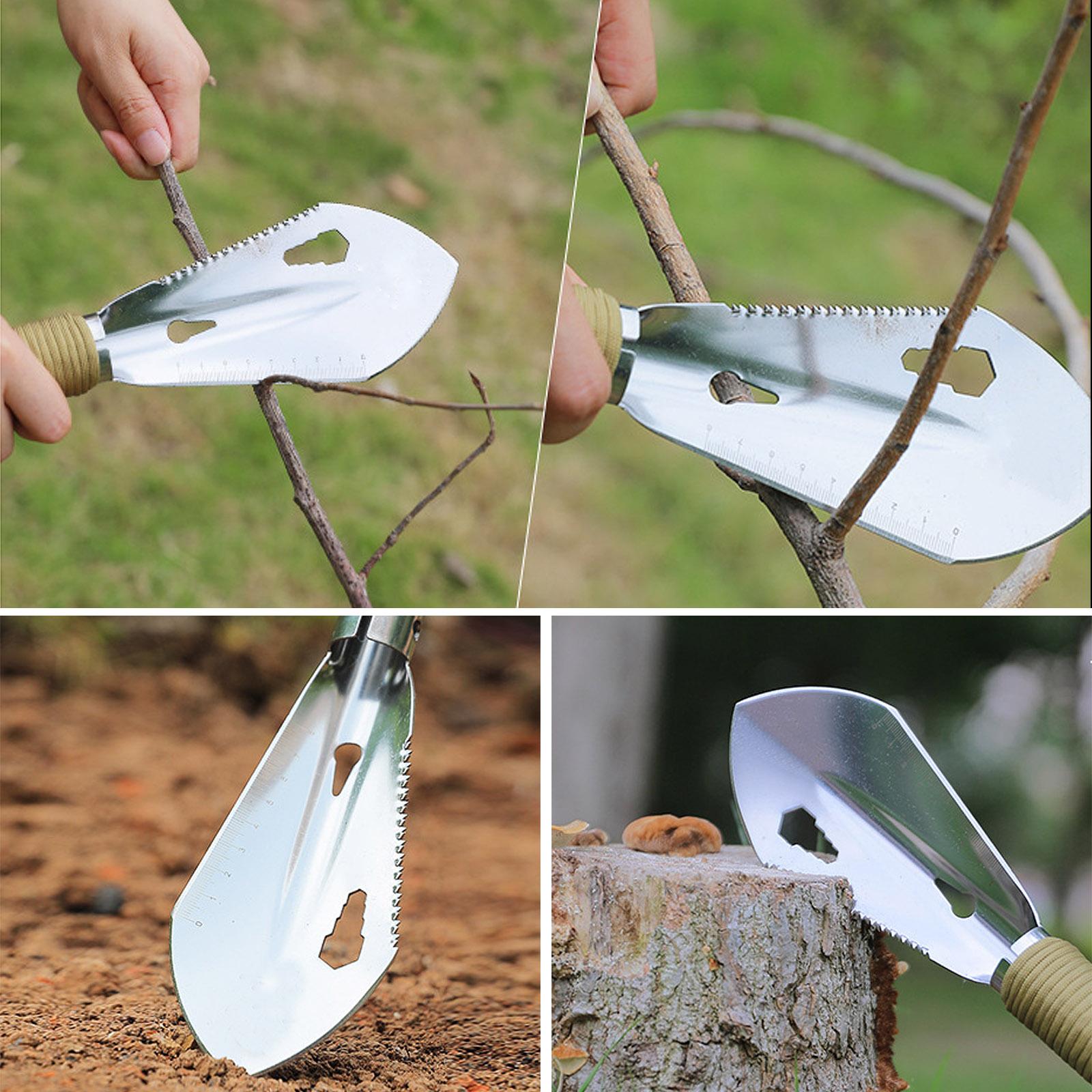 Многофункциональная лопатка для походов и сада