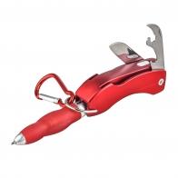Многофункциональная ручка 4-в-1: ручка, фонарик, открывашка, нож