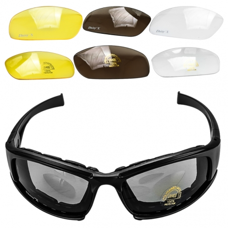 Многофункциональные солнцезащитные очки со сменными линзами Daisy X