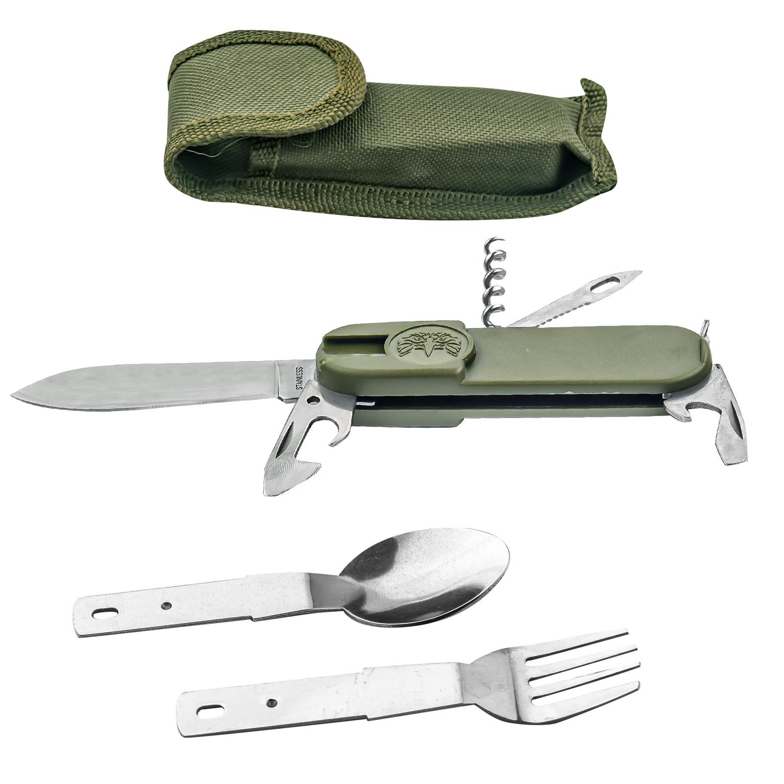 Многофункциональный армейский нож Бундесвера 7-в-1
