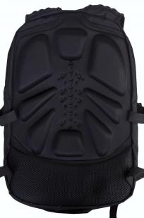 Многофункциональный черный рюкзак  шевроном Каратель купить онлайн