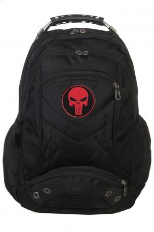 Многофункциональный городской рюкзак  шевроном Каратель