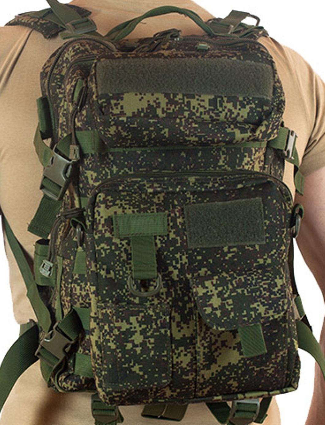 Многофункциональный рюкзак камуфляж