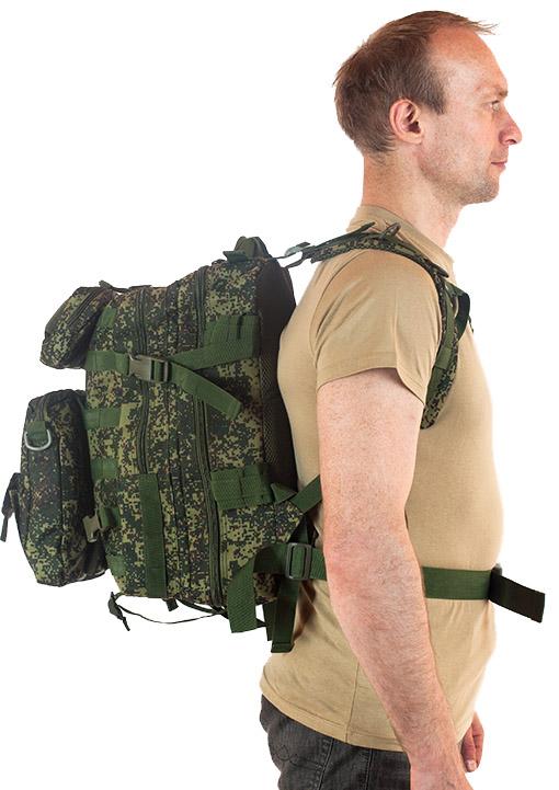Многофункциональный рюкзак камуфляж от Военпро