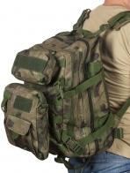 Армейский рюкзак с подсумками A-TACS FG Camo