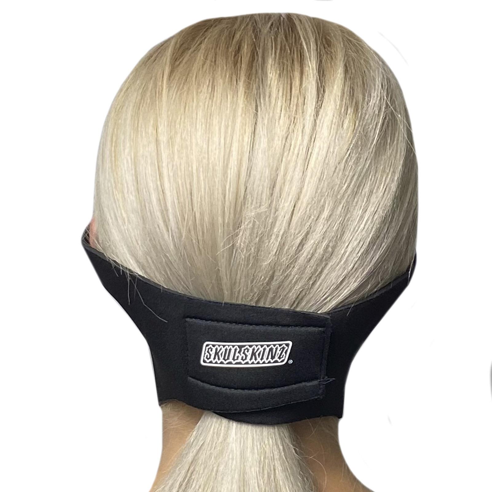 Многоразовая медицинская маска Skulskinz Black
