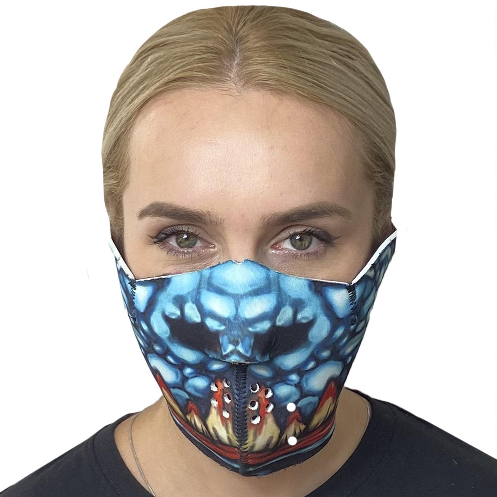 Многоразовая неопреновая антивирусная маска Wild Wear Carnage