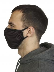 Многоразовая защитная черная маска с доставкой