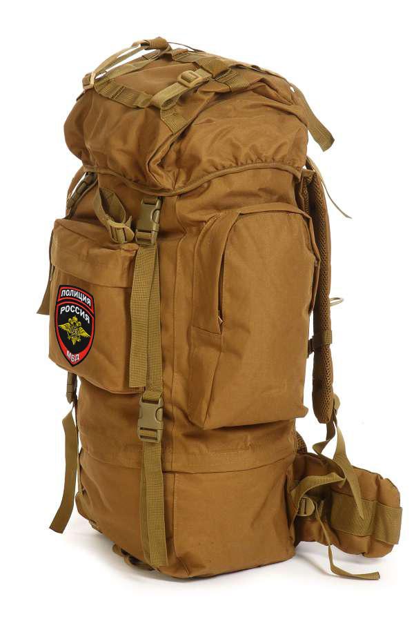 Многоцелевой армейский рюкзак с нашивкой Полиция России - купить в розницу