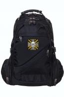 Многоцелевой черный рюкзак с крестом Бакланова