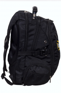 Заказать многоцелевой черный рюкзак с крестом Бакланова