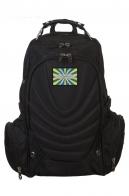Многоцелевой черный рюкзак с нашивкой ВВС